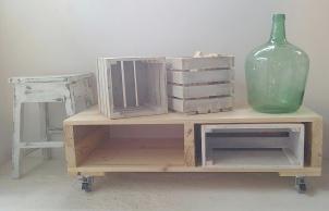 mueble madera reciclada