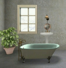 diseño baño 3D