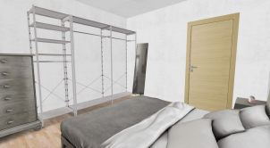 diseño habitacion 3D