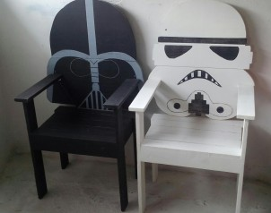 sillas star wars 2