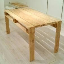 mesa falso palet