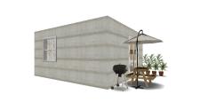 cabaña 3D