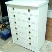 mueble lacado blanco