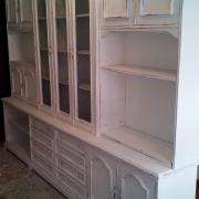 mueble salon desgastado